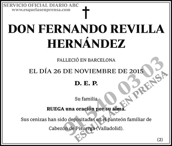 Fernando Revilla Hernández